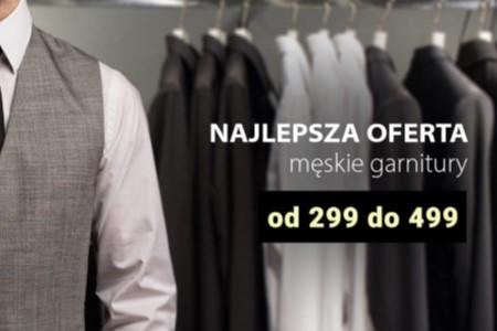 Moda Męska Nowak, czyli najlepsze miejsce na zakup garnituru
